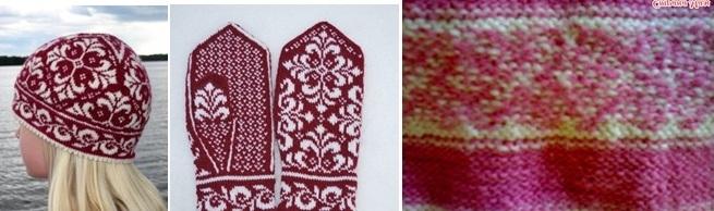 какие виды вязания жаккарда вам известны