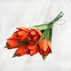 Подарок в технике оригами тюльпаны 8 марта