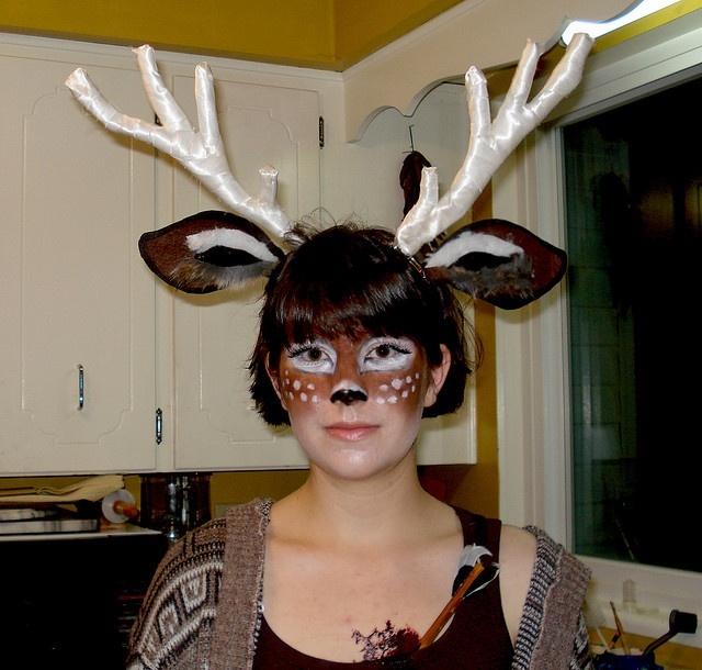 Костюмы оленя на новый год своими руками