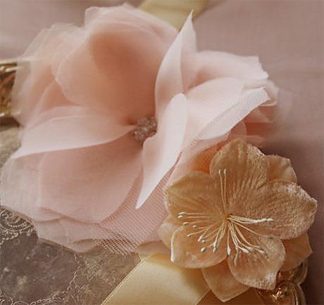 Сделать цветы из тюли
