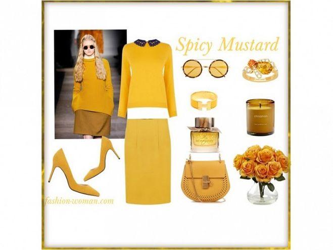 Цвет Spicy Mustard