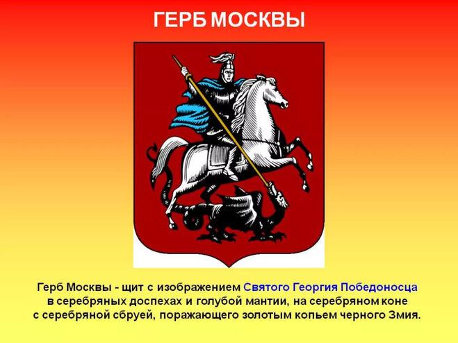 Доклад о Москве 2 класс окружающий мир