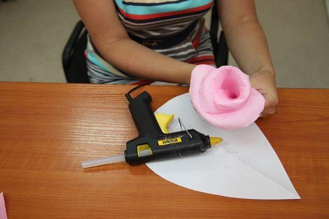 Большой цветок для фотосессии своими руками как сделать фото 973