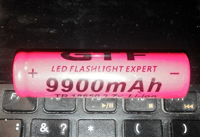 Аккумулятор GTF TR18650 9900mAh