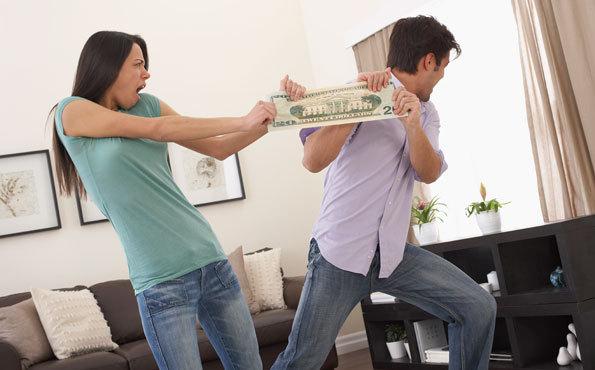 Делится при разводе вклад сообразил, что