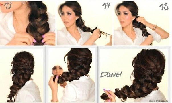 Как сделать начес на длинные волосы самой фото 762