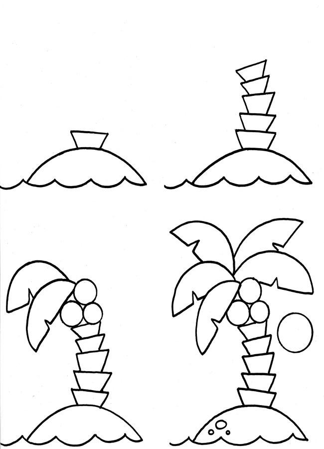 Как на�и�ова�� пал�м� ка�анда�ом по��апно