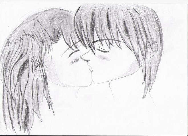 как знаком сделать поцелуй