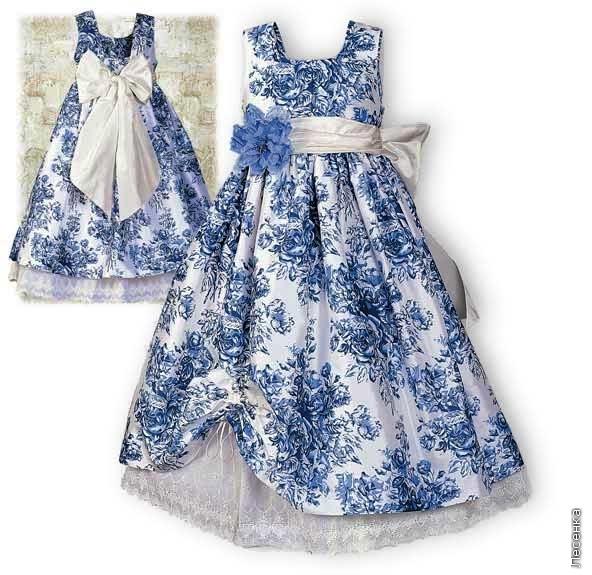 Как сделать платье из подручного материала своими руками