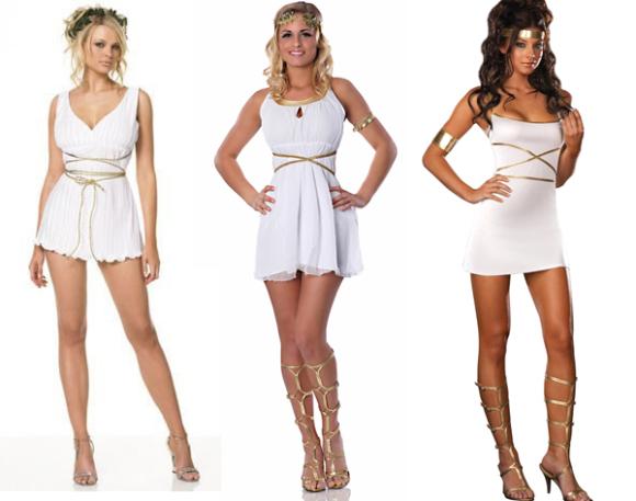 Обувь под платье в греческом стиле