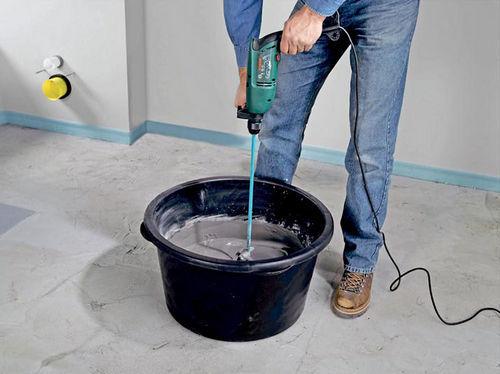 Как правильно сделать цементный раствор для дорожек