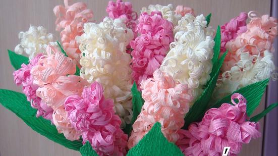 Как сделать букет цветов из бумаги своими