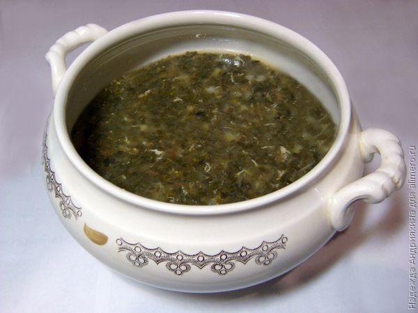 зеленые щи на зиму рецепты из капусты
