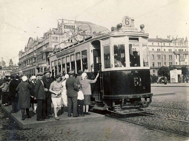 трамвай, 30-е гг ХХ ст.