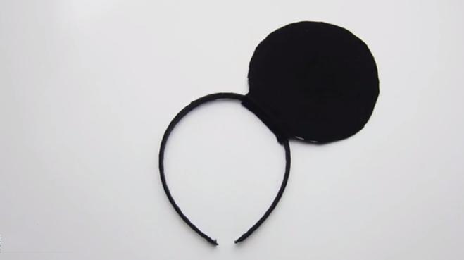 Как сделать уши микки мауса своими руками фото 719