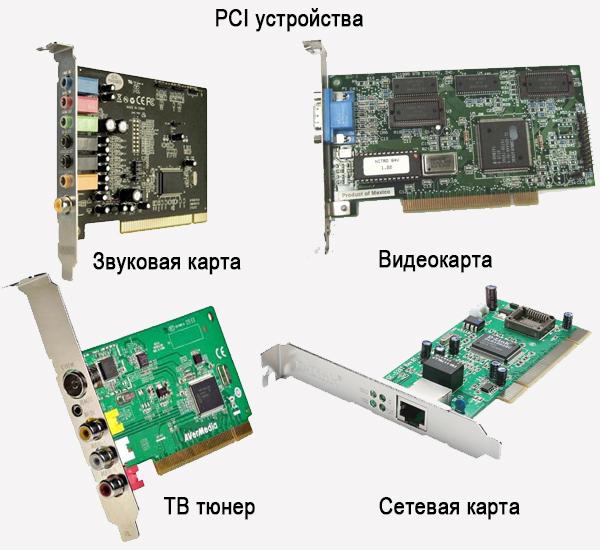 PCI устройства