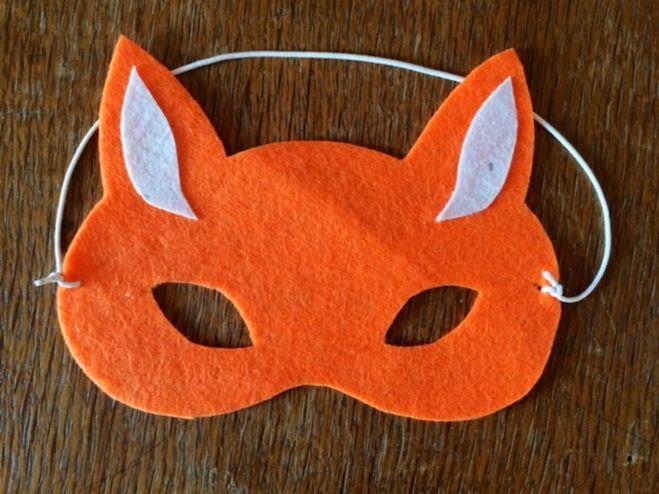 Как сделать маску лисы своими руками фото 858