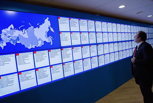 предварительные результаты выборов 2018, ЦИК РФ