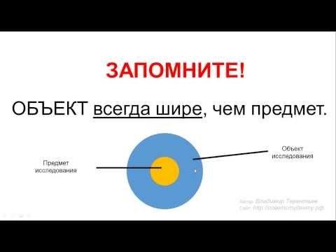 Как определить объект и предмет курсовой работы  как определить объект и предмет курсовой работы