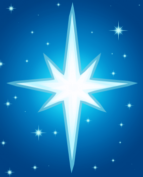 рисунок вифлеемская звезда
