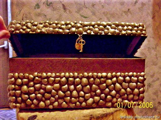 Шкатулки из коробок из под обуви своими руками