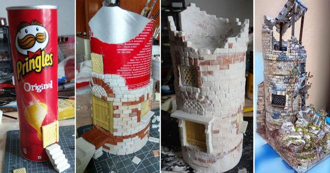 башня от замка