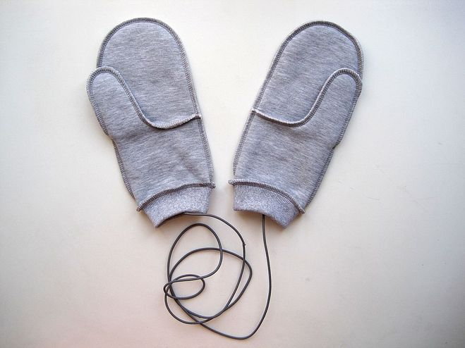 Резинки для варежек своими руками
