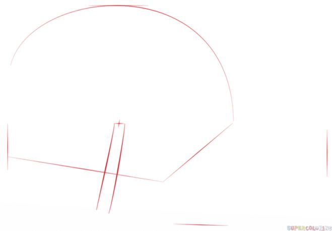 как нарисовать водную лилию - 1