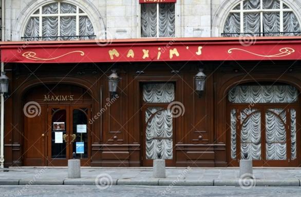 ресторан Максим в Париже