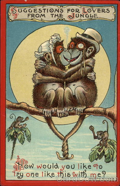 Поздравление день рожденья с обезьяной 900