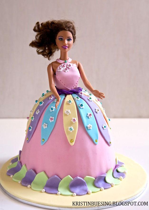 торт кукла фото