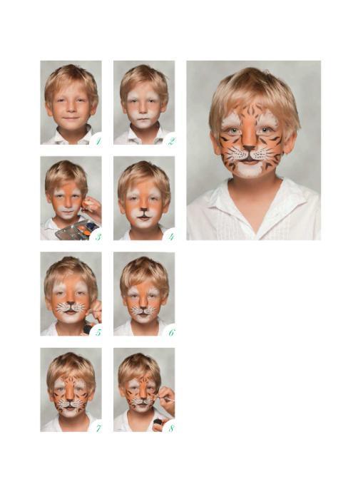 Как правильно наносить аквагрим на лицо ребёнка