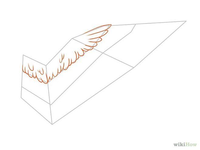 А что нарисовать крылья ангела