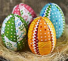 яйца на Пасху из кимекоми