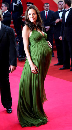 Фото звезды платье беременных