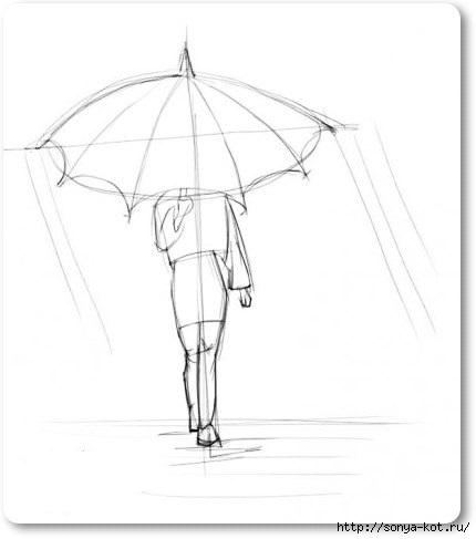 как нарисовать фигуру девушки: