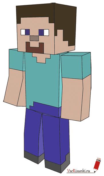 Как нарисовать Minecraft? - elHow