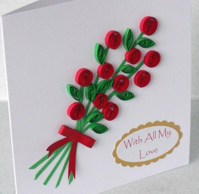 Лёгкие открытки на день рождения бабушке
