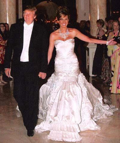 Свадьба Дональда Трампа и Меланьи