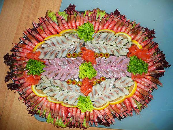 салат из красной рыбы фото рецепты
