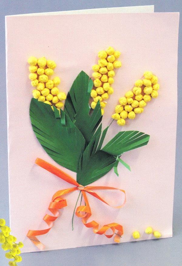 Подарок маме своими руками на 8 марта в детском саду