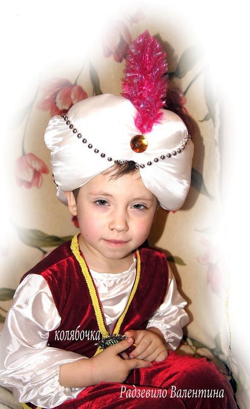 Видео как сделать шапку султана своими руками