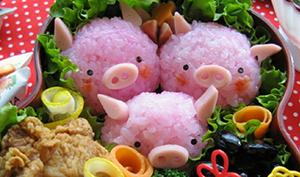 детский закуски в виде поросенка на Новый год 2019 Свиньи