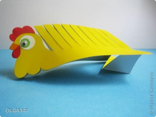 Как сделать курицу из картона своими руками