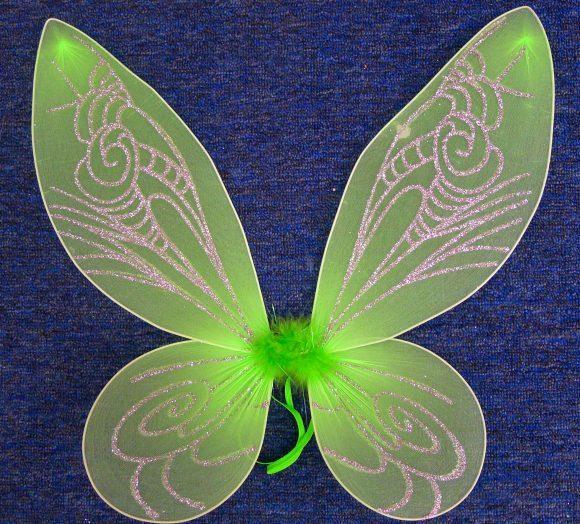Крылья для феи из бумаги своими руками