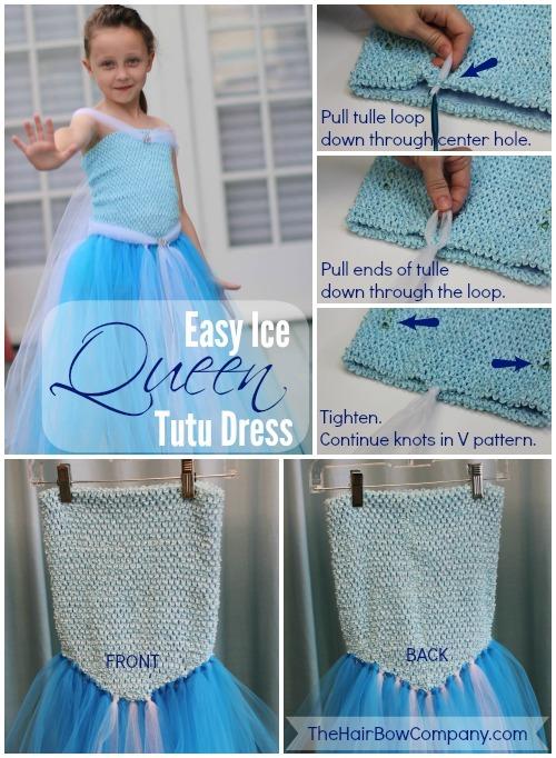 Как сшить платье туту