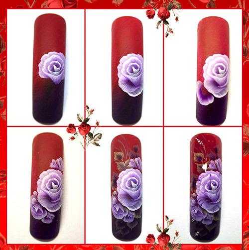 Дизайн ногтей китайская роспись пошаговое