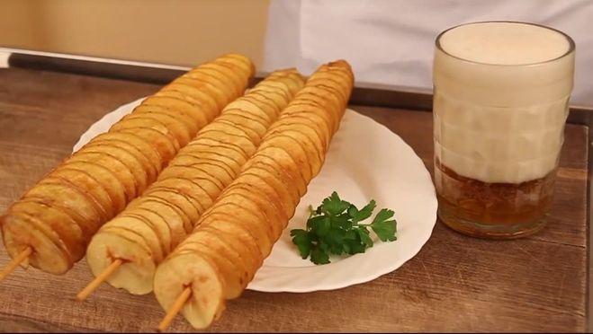как подать картошку красиво на праздничный стол