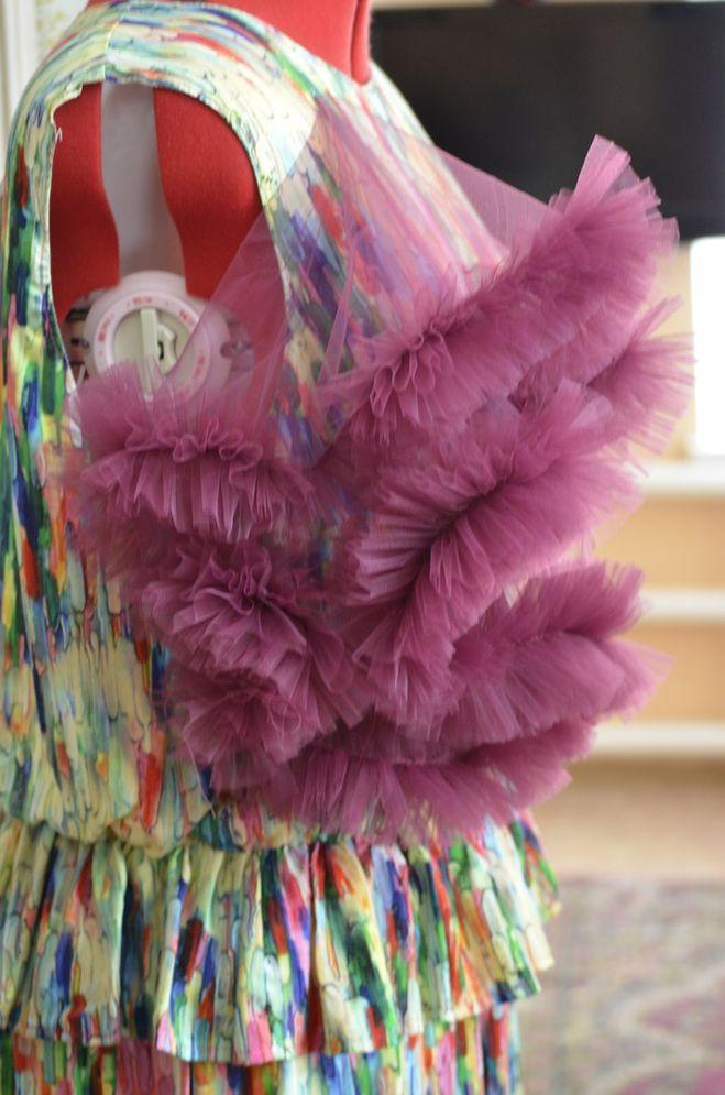 Платье облако своими руками для девочки 16