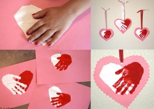 Валентинка для мамы своими руками из бумаги